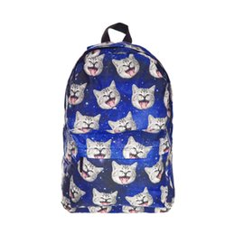 Wholesale Top Wholesale Shops - Fashion Woman child kids backpack Shopping bag Drawstring Backpack 3D digital printing Sport Outdoor Packs top quality