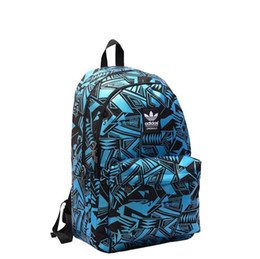 Wholesale Casual College Bags - 2017 fashion casual shoulder bag men and women Korean version of the tide college wind large and medium students travel business computer ba