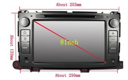 Wholesale Sienna Radio - 8-Core Android 6.0 Car Dvd Gps Navi Audio for Toyota Sienna HD1024*600 1080P (canbus need extra payUSD30 if your car need)