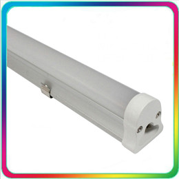 Wholesale Cool Daylight - 12PCS 85-265V Warranty 3 Years 1.2m 18W 4ft LED Tube T5 LED Tube 1200mm G13 Bulb Lights Fluorescent Lamp Daylight Lighting