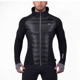 Wholesale Parka Man Xxl - Wholesale- 2016 Men Parkas And Jackets Coats Hooded Jackets Brand Clothing Size M L XL XXL XXXL