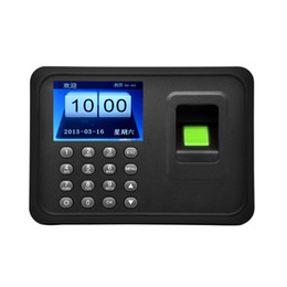 Wholesale Biometric Fingerprint Time - Wholesale-Free Ship USB Password Biometric Fingerprint Time Attendance System And Time Recorder Control System for employee office