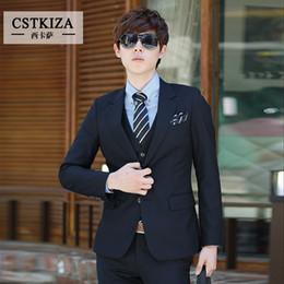 Wholesale Vestidos Moda - Wholesale- (Jacket + Pants)New fashion 2016 men suit slim fit wedding suits men ternos costume mariage homme mens suit vestidos moda Blazer
