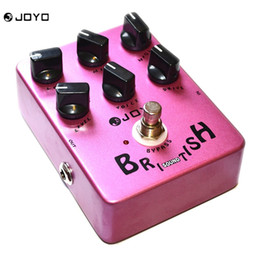 Wholesale Guitar Amplifier Effects - JOYO JF16 Guitar Pedal British Sound Effect Pedal Amplifier Simulator Get Tones Inspired By Marshall Amps