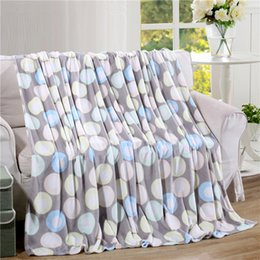 Wholesale Cheap King Beds - Wholesale- Cheap big sizes Home textile summer endless print super warm soft blanket throw on sofa bed  travel plaids bedspreads sheet