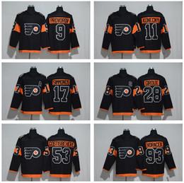 e60137c2e Men Philadelphia Flyers 2017 Stadium Series 9 Ivan Provorov Jersey 11 Travis  Konecny 17 Wayne Simmonds Claude Giroux 53 Shayne Gostisbehere ivan provorov  ...