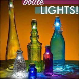 Wholesale Bottle Cork Usb - 2017 Originality Lights Cork Shaped Rechargeable Christmas USB LED Night Light Bottle Light Bottle LED LAMP Cork Plug Wine Bottle free ship