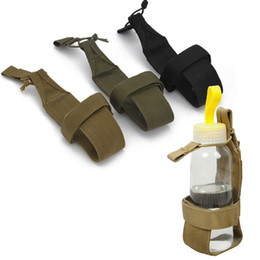 Wholesale Football Water Bottles - Outdoor Sports Combat Tactical Water Pouch Hydration Pack Water Bottle Holder Carrier SO11-651