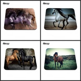 Wholesale Pentium Computers - Pentium horse game mouse pad rubber non-slip decoration art photography and computer peripheral equipment, can be used as a gift