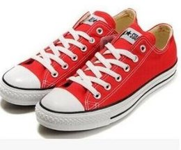 Wholesale Christmas Dress Ups - 2018 Classic conve1se Hot sell Unisex LOW-Top Adult Women's Men's Canvas Running Shoes 13 colors Laced Up Casual Shoes Sneaker shoes