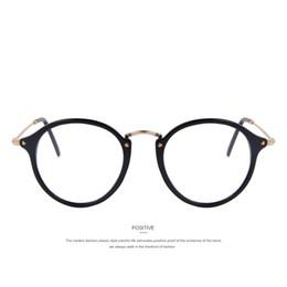 2019 goldene brücke sonnenbrille MERRY'S Fashion Damen Klarglas Brillen Unisex Retro Klarglas Brillen Oval Frame Metall Tempel