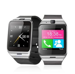 Wholesale S3 Sim - GV18 Bluetooth Smart Watch WristWatch GV08 Smartwatch Support SIM Card for Samsung S2 S3 HTC Android Phone