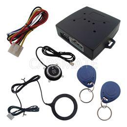 Wholesale Keyless Entry Push Start System - Smart Car Engine Push Start Button Rfid Engine Lock Ignition Starter Keyless Go System, Push Button