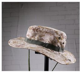 Wholesale Camping Outdoor Recreation - Outdoor Recreation Jungle Adventure Camouflage Hat MZY01