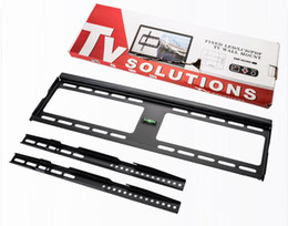 Wholesale Rack Mounted Lcd - LED LCD TV stand universal flat panel TV rack Fixed Wall TV Mount Bracket Stand Holder