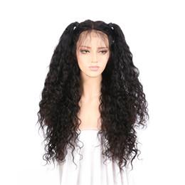 Parrucche piene del pizzo dei capelli umani interamente pieghettati Wave Wave per le donne nere Capelli bionde dei capelli remy brasiliani 150 parrucche di densità da