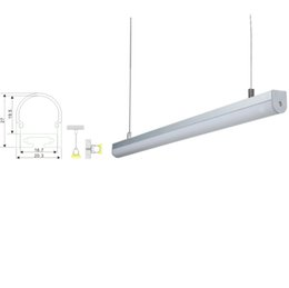10 X 1M sets lot Round shape aluminium led profile and anodized silver channel profile led for ceiling or wall lighting  sc 1 st  DHgate.com & Aluminium Led Channel NZ | Buy New Aluminium Led Channel Online from ...
