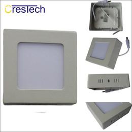 Panneau de surface led en Ligne-Surface LED panneau lumineux 6W 12W 18W 23W LED plat lampe de plafond lampe