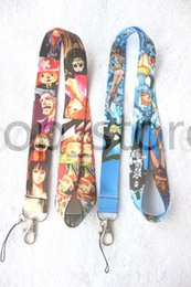 Wholesale Pirate Price - Factory direct price wholesale - mixed More style Pirate king mobile Phone lanyard Cartoon lanyard Keychain straps charms.