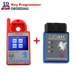 Wholesale Toyota 4c Key Programmer - Mini CN900 V1.23.2.15 Transponder Key Programmer Plus TOYO Key OBD II Key Pro for 4C 46 4D 48 G H Chips Free Shipping