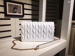 Wholesale White Envelopes Letter - Fashion Bags Luxury Small Shoulder Bag Women Bag miu lady bag Shoulder Bags Lady Brand Handbags Messenger 6989