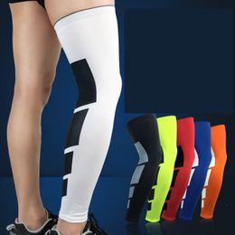 Wholesale Knee Pad Leggings - Basketball sports knee Long Air Compression Tights Leggings outdoor badminton football riding running knee brace