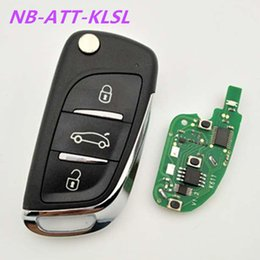 Wholesale Used Jeeps - High quality keydiy DS style NB-ATT-KLSL 3 button remote key used for Chrysler,dodge,Jeep etc with ID46 chip 5pcs lot free shipping