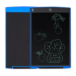 Wholesale Tablet Pc Handwriting - LCD Writing Tablet PC Memo Whiteboard Electronic Children Student Drawing Playing Handwriting eWriter 8.5 Inch 12 Inch Pad Notepad