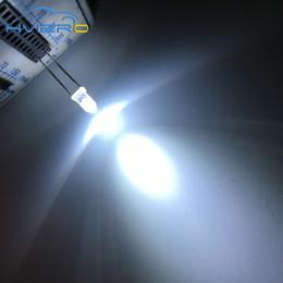 2019 3mm geführtes super helles weiß Wholesale- 100Pcs rundes weißes 3MM LED Zusammenstellungs-Installationssatz-ultra super helles Licht, das 6000-6500k Dioden-Birnen-Lampe ausstrahlt Freies Verschiffen wholesale günstig 3mm geführtes super helles weiß