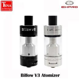 Оптовая продажа-100% оригинальный ehpro Billow V3 распылитель перестраиваемый распылитель диаметр 22 мм 4.5 мл емкость Billow V3 бак для бесплатная доставка от