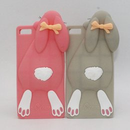 Wholesale Huawei Ascend 3d Cases - Case Huawei Ascend P8 & P8 Lite   P9 & P9 Lite mini High Quality 3D Silicone Cover Phone Case Huawei Y3 II Y5 II Y6 II 2 Bunny Rabbit Cases