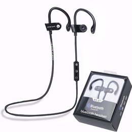 Wholesale Earphones Run - MS-B7 Sport Bluetooth 4.1 Wireless Stereo Headset Earphone Headphone Running Ear Hook Handsfree with Mic for for iPhone 7 Samsung Smartphone