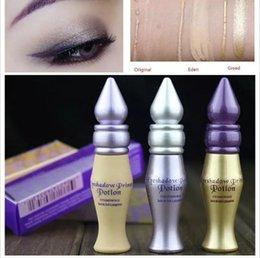 Wholesale Eye Primer Potion - Free Shipping Eyeshadow Primer Base Longlasting Dark-Circle Eye Cream Remover Isolation Shadow Makeup Potion Cosmetics 1Pcs 3.5g