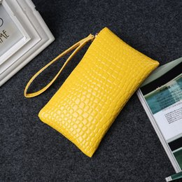 Wholesale Envelope Wallets - Fashion solid women's clutch bag leather women envelope bag clutch evening bag female Clutches Handbag free shipping