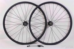 Wholesale Mtb Wheelset 29er - 29er MTB XC race mountain bike carbon wheels depth 25mm hookless UD matte 29inch wheelset width 30mm