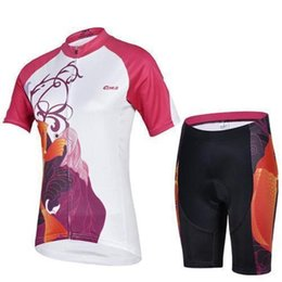 Wholesale Popular Women Clothing - 2015 Summer hot sale cheji bicycle clothes for women short sleeve team cycling jersey padded bike shorts popular style ladies sport wear