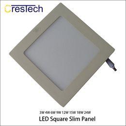kit led blanco Rebajas 15W 18W 23W Rejilla empotrada Panel LED Luminaria empotrable Kit de accesorios de iluminación Blanco cálido y blanco frío