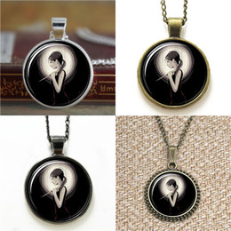 Wholesale Painted Glass Art - 10pcs Buffy The Vampire Slayer Inspired Slay art paint Glass Photo Necklace keyring bookmark cufflink earring bracelet