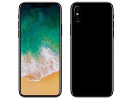 Wholesale Android Phone Unlocked 16gb 3g - 5.5inch Goophone X MTK6580 Quad Core 1GB RAM 16GB ROM IPS Screen 1280*720 8mp camera 3G GPS Android phone Unlocked cell phone