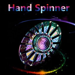 Wholesale Copper Spinners - New Fidget Spinner Hand Spinner Finger EDC Toy For Decompression Anxiety Stainless Steel Metal 100% Pure Copper Toys