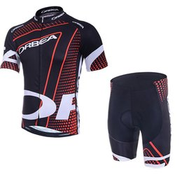 Wholesale Mens Road Cycling Jersey - 2017 outdoor sports ORBEA road sportswear mens clothing cycle wear skinsuitteam bike bicycle Cycling Jerseys shirt +bibs shorts sets