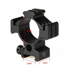 Wholesale Weaver Base Rings - High Quality Tactical 35mm Diameter Scope Rings Weaver Mount With 20mm Rail Base