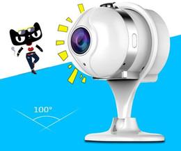 Argentina 2017 Mini WIFI / Cámara IP Más pequeña Protable Wifi Mini Cámara de vigilancia CCTV Seguridad Cámara IP inalámbrica HD 1MX Suministro