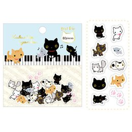 cartoon album Promo Codes - Wholesale- 80 pcs lot Cute cartoon animals paper sticker package DIY diary decoration sticker album scrapbooking kawaii stationery