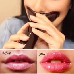 Wholesale Lips Pump Plumper - Beauty Full Lips Pump Plumper Enhancer Fuller Luscious Lip Thicker Pouty Smooth Lip enlarger tool Natual enhancement