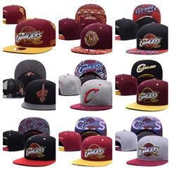 Wholesale Paisley Basketball - 2017 Cleveland Adjustable Snapback Hat Thousands Snap Back Hat For Men Basketball Cap Cheap Hat Adjustable bone men women Baseball Cap