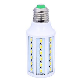 Wholesale Dc 48v - New corn LED bulb 11W E27 12V 24V 36V 48V AC   DC 12V SMD 5730 15W 57 led corn light bulb with 360 degree
