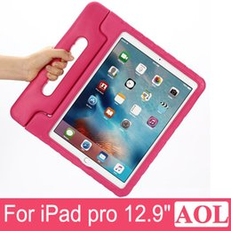 "Wholesale Kids Ipad Tablet - New Arrival Children Kids Shockproof Safe Thick Foam EVA Cover Case Non-Toxic Stand Handle For Apple iPad Pro 12.9"" Tablet PC"