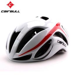 Wholesale Helmet Mountain Bike - CAIRBULL Road Bicycle Cycling Helmet 5 Colors EPS Ultralight Breathable Mountain Road Bike Helmet Riding Accessories Men Women #448