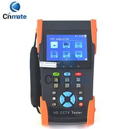 Wholesale Ptz Hd Video Camera - CCTV Camera Tester 3.5 Inch LCD Coaxial HD Video Monitor Tester Support AHD CVI TVI SDI PTZ Control Ping Test HD-2800ADHS